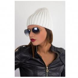 Bonnet style CRAIG DAVID blanc