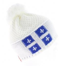 Bonnet Blanc Le Drapo Quebec
