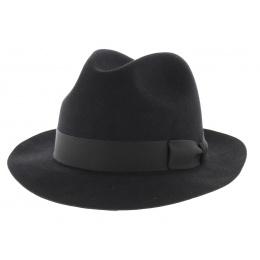 Chapeau fedora feutre poil