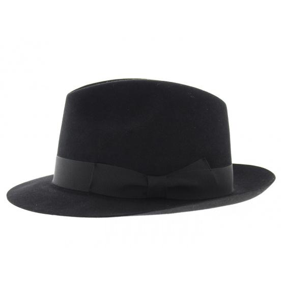 Fedora hat with hair felt