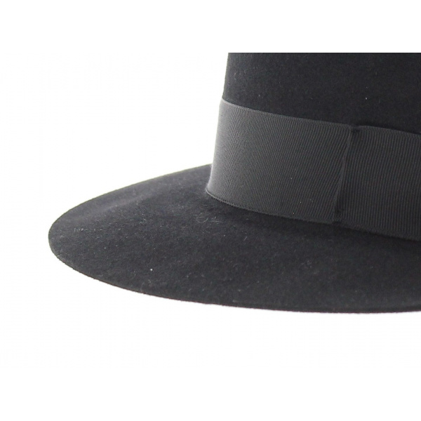 Fedora hat with hair felt