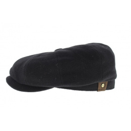casquette hatteras noir laine