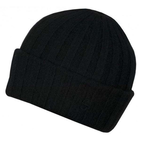 Bonnet cachemire Surth noir - Stetson