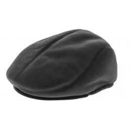 Marian Gena leather cap
