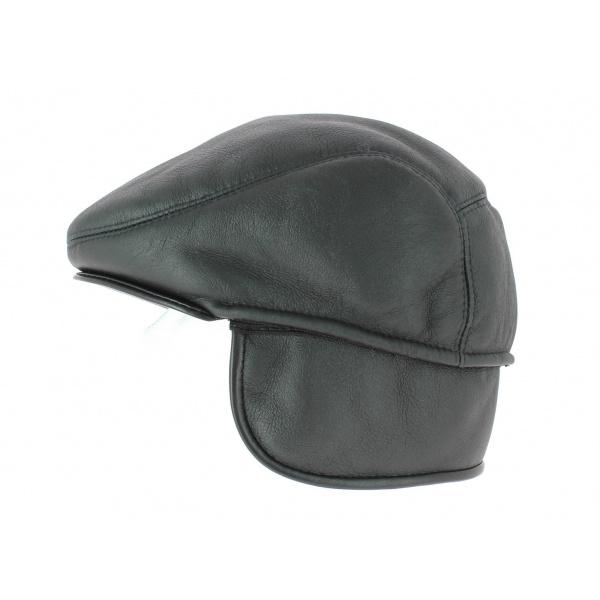 Marian Gena leather cap