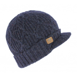 Bonnet casquette The Yukon brim navy
