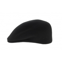 black wool felt domed cap - Traclet