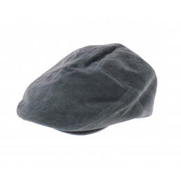 Casquette Ralph Cuir Grise - Traclet