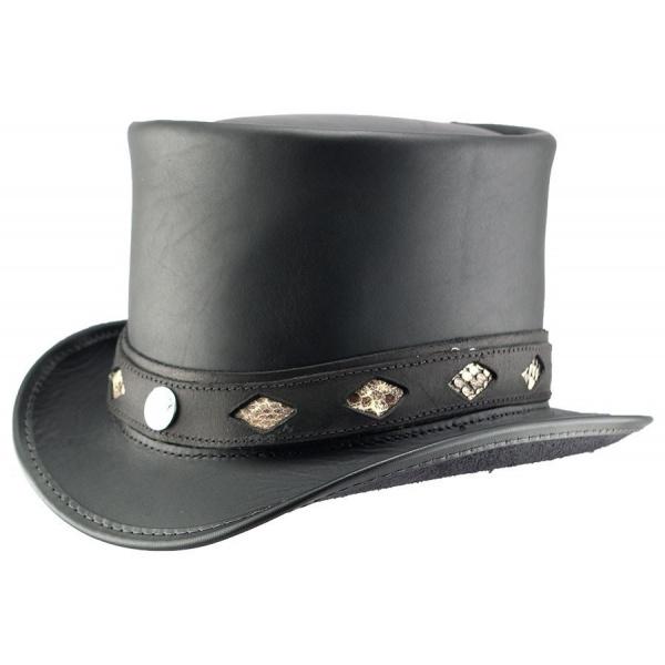Chapeau haut de forme Topper - Diamond Inlay Band