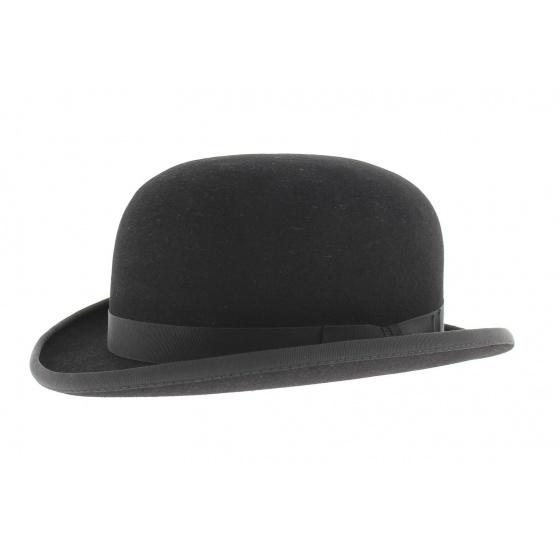 Hair felt bowler hat