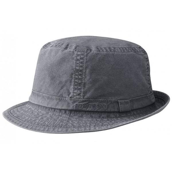 Chapeau Tissu Stetson Gander noir