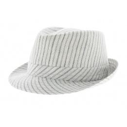 Chapeau Trilby Coton Stripes - Traclet