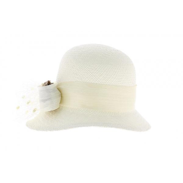 Hat  cloche Panama made in Panama