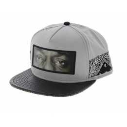 C&S Snapback Cap - One Love Grey