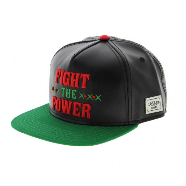 Snapback C&S Cap - Fight the Power
