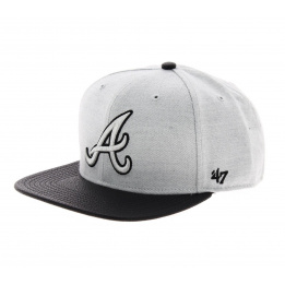 Atlanta Braves Cap Grey - 47 Brand