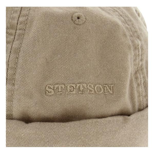 Bonnet Ocala Docker en Coton Stetson - Beige