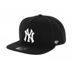 Black and white NY cap - 47 Brand