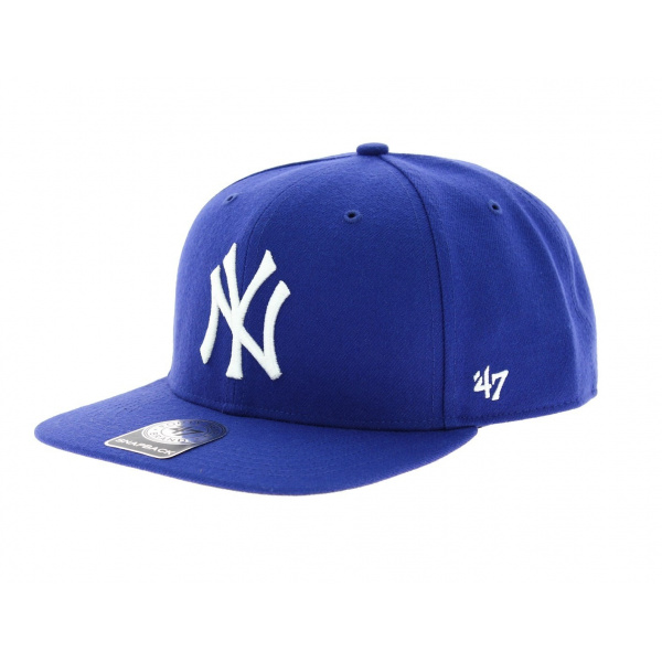 casquette snapback ny bleue 47 brand. Black Bedroom Furniture Sets. Home Design Ideas