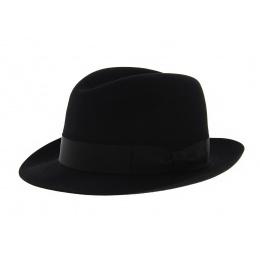 Chapeau Fedora Feutre noir - Tonak
