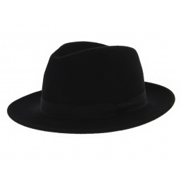 Fedora Hats Wool Felt Black