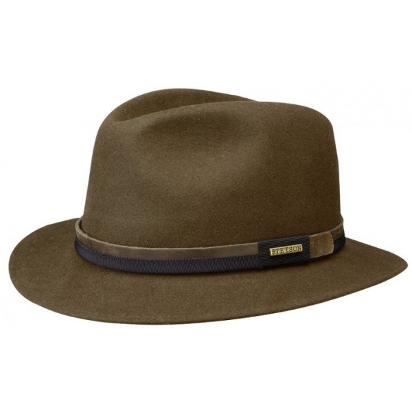 Borsalino hat Allegro Rain Proof brown