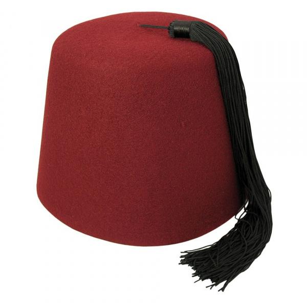 Chapeau Fez Bordeaux