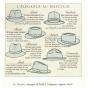 Fédora Le Chazelles Brown Felt Hat - Fléchet