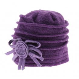 Bonnet Annabella- Violet parme