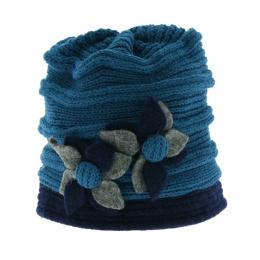 Nirvana wool hat - Turquoise
