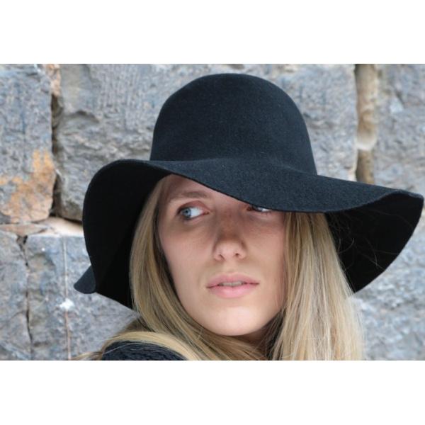 Capeline Garbo Feutre Laine - No Hats