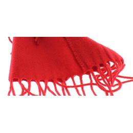 Echarpe laine Rouge - Traclet