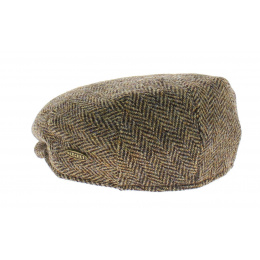 Casquette Harris Tweed Marron - Flechet