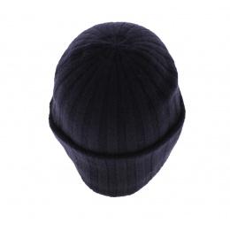 Bonnet cachemire Surth marine - Stetson