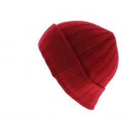 Bonnet cachemire Surth Rouge - Stetson