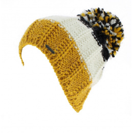 Bonnet à Pompon tricolore - Wegener