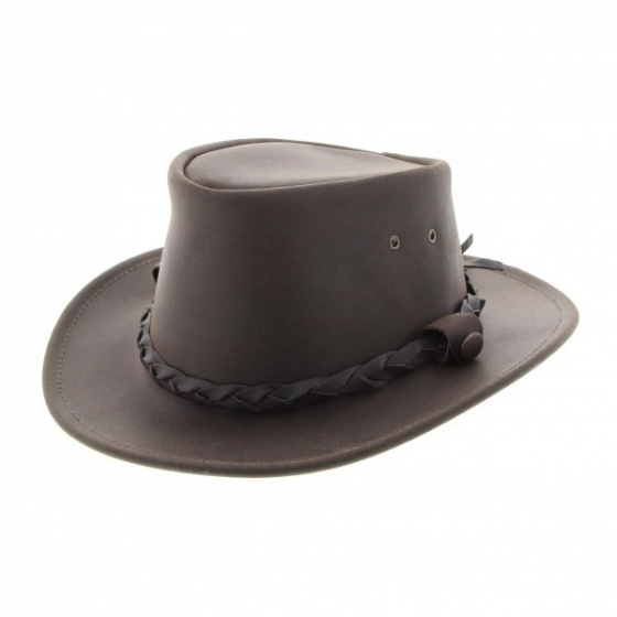 Australian Highlander leather hat