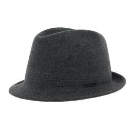 Chapeau trilby feutre - Anthracite