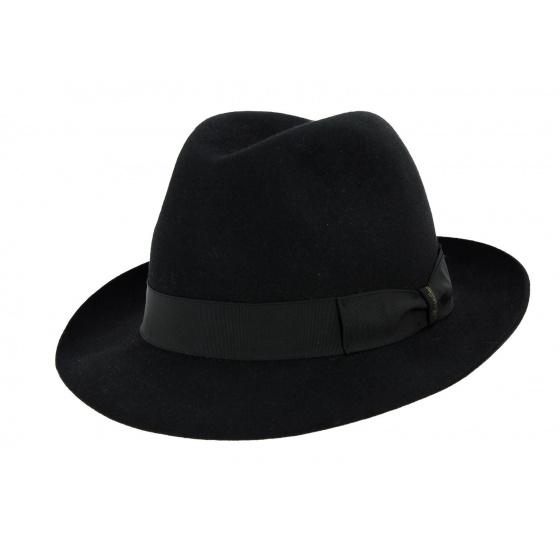 Borsalino Hat Marengo Black