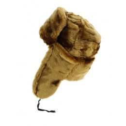 Ushanka - Chapka USSR golden brown