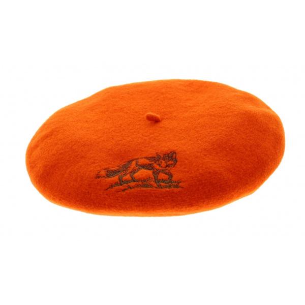 Fox Hunter Orange Beret - Le Béret Français