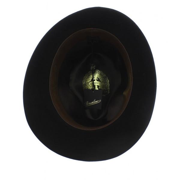 Chapeau Feutre Poil de Castor Noir Beaver - Borsalino