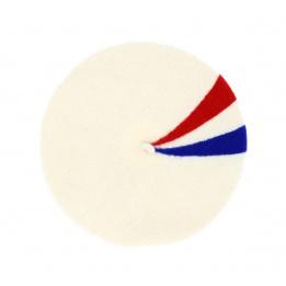 Le Béret Français - Béret Patriote blanc cassé