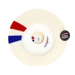 Béret Patriote Blanc Cassé- Le Béret Français