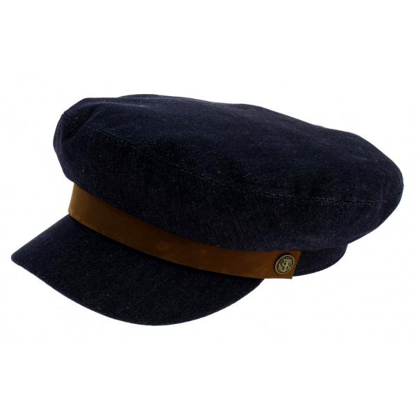 Fiddler Denim Blue Brixton Marine Cap