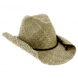 Chapeau Cowboy Paille Naturelle - Traclet