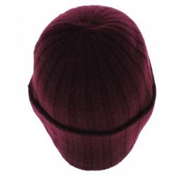 Bonnet cachemire Surth bordeaux - Stetson