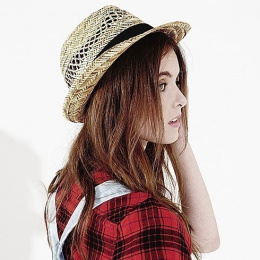 A - Raguse - chapeau de paille femme