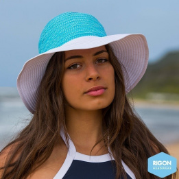 Endless Summer Turquoise Polyester- Rigon Headwear Endless Summer Capeline