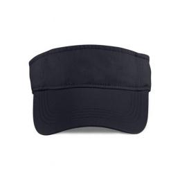 Visor Cap Cotton Black